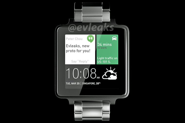 htc one android wear smartwatch news evleaks