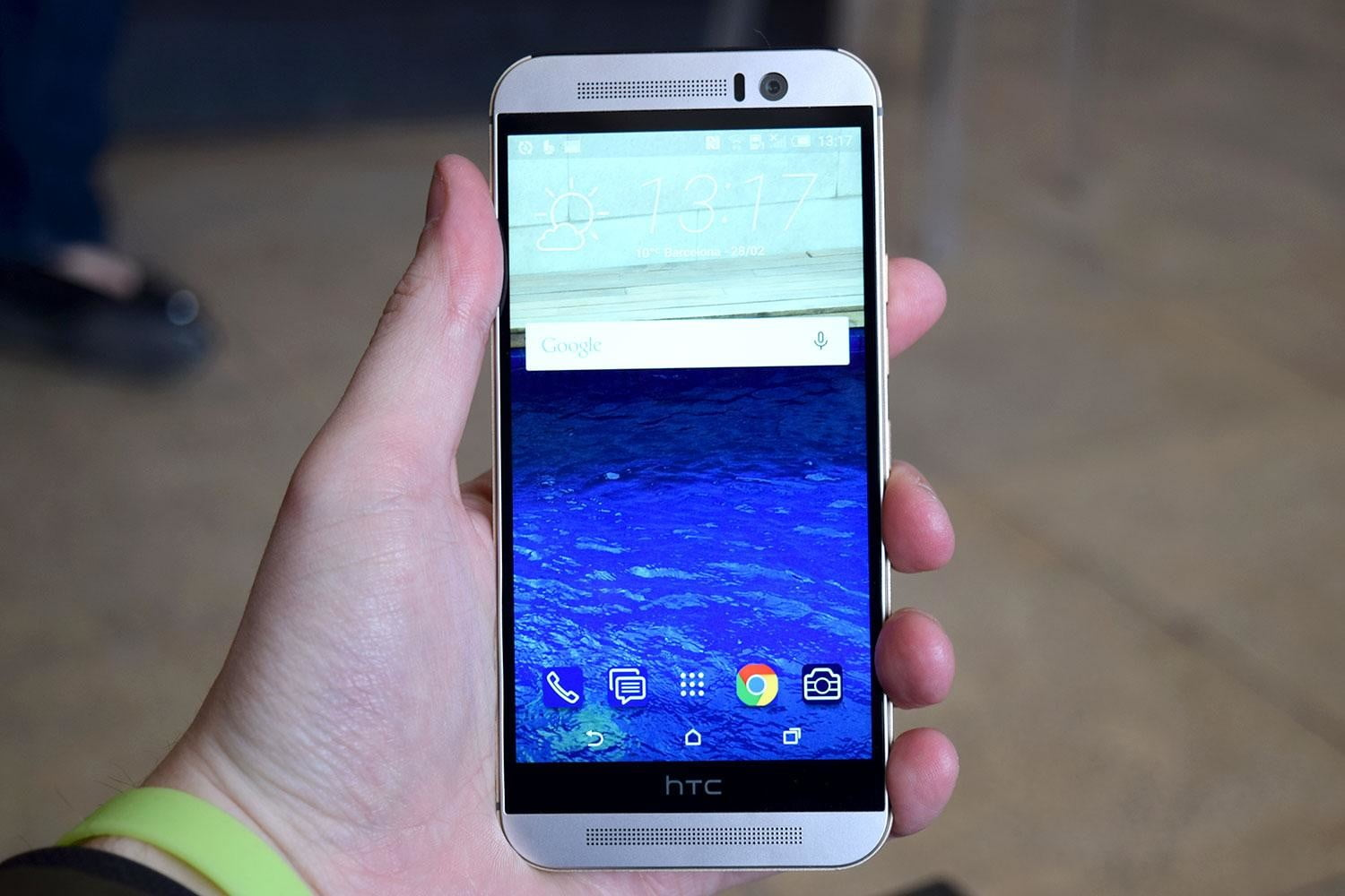 HTC One M9 front 1