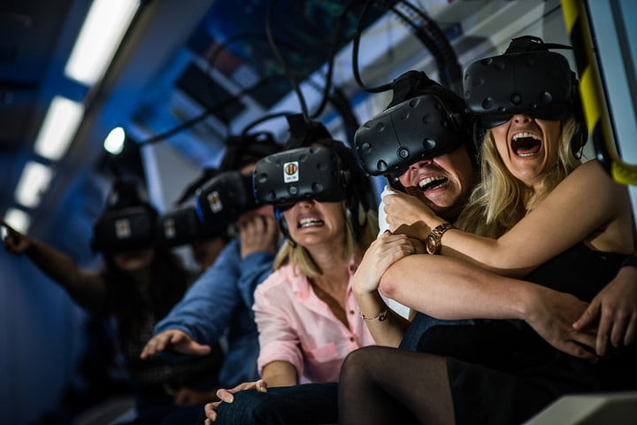 nvidia introduces multi vr system at gpu technology conference htc vive horror full