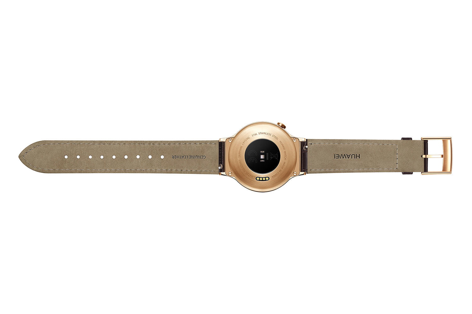 huawei watch news gold leather back