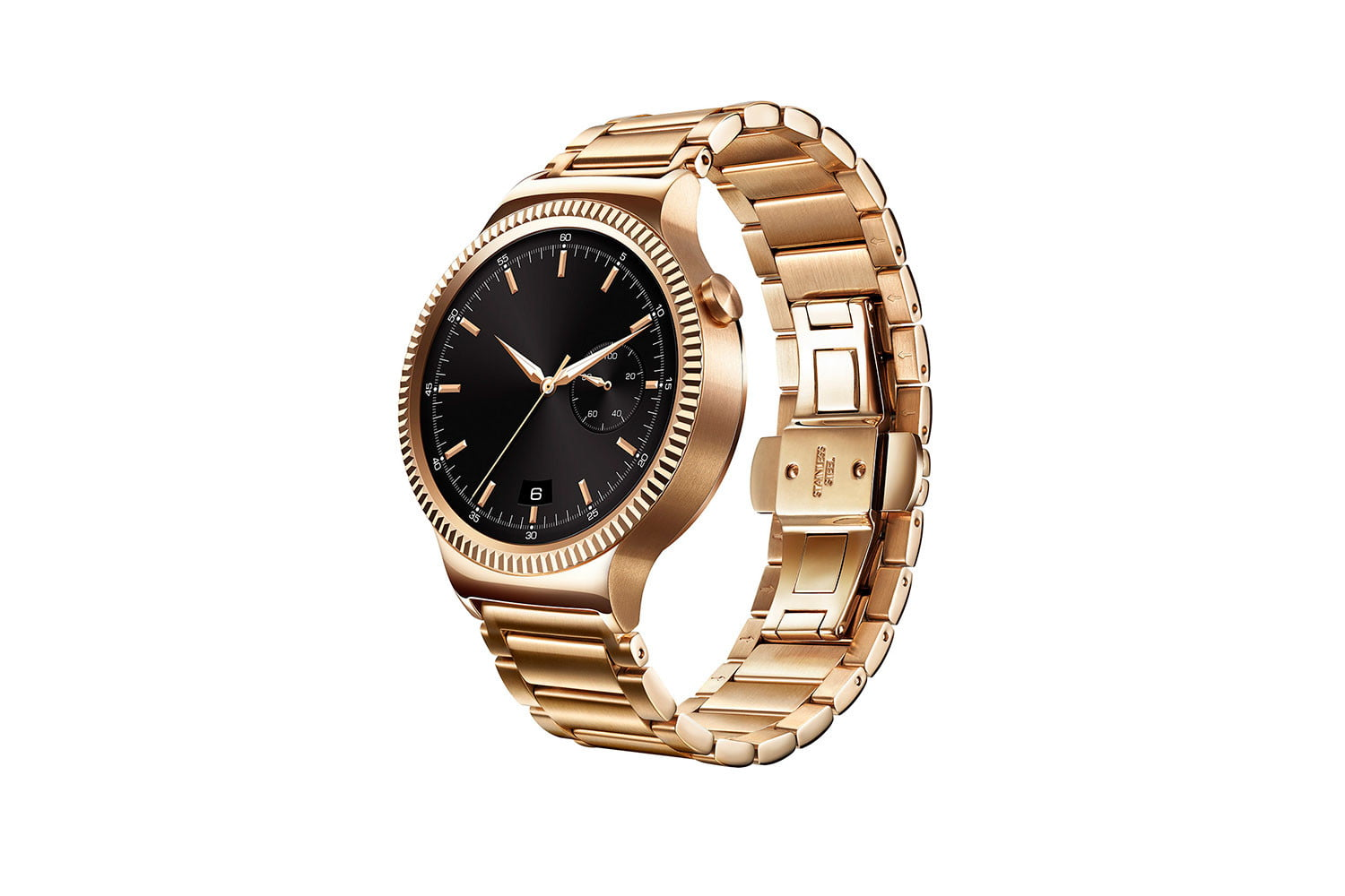 huawei watch news gold links left side