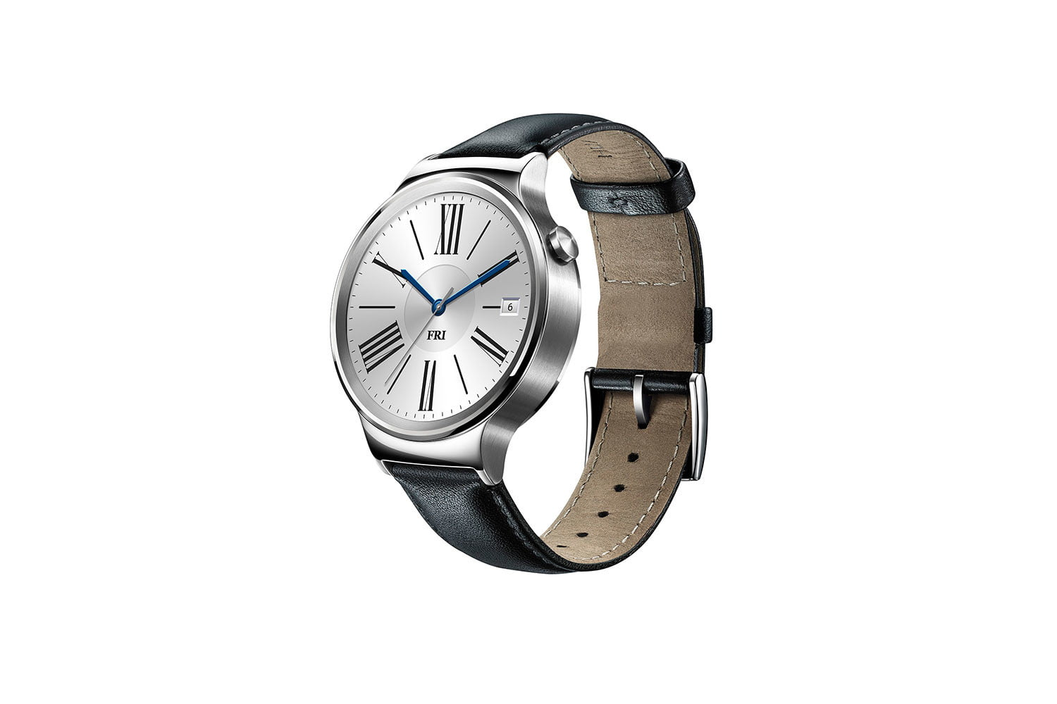 huawei watch news stainless leather left side