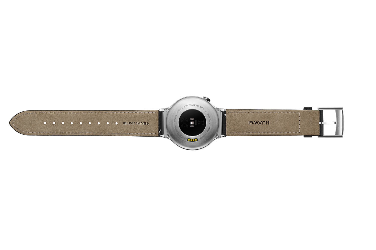 huawei watch news stainless leather rear