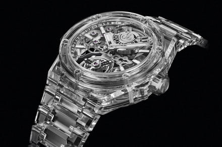 The amazing story behind the making of Hublot's 2,000 all-sapphire watch