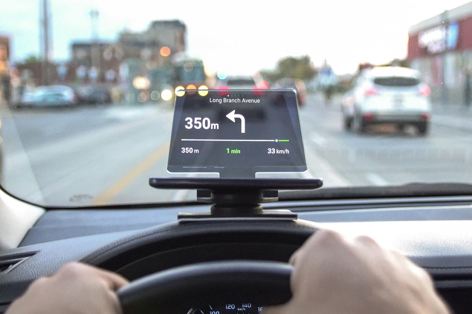 awesome tech you cant buy yet lingozing swash flexr hudify  transparent gps heads up display