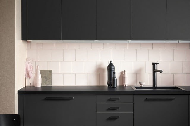 Ikea S Recycled Kitchen Has Cabinets Made From Recycled Bottles Digital Trends