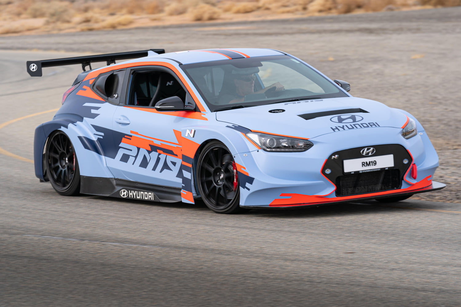 mid engined hyundai rm19 hot hatch unveiled at los angeles auto show 1