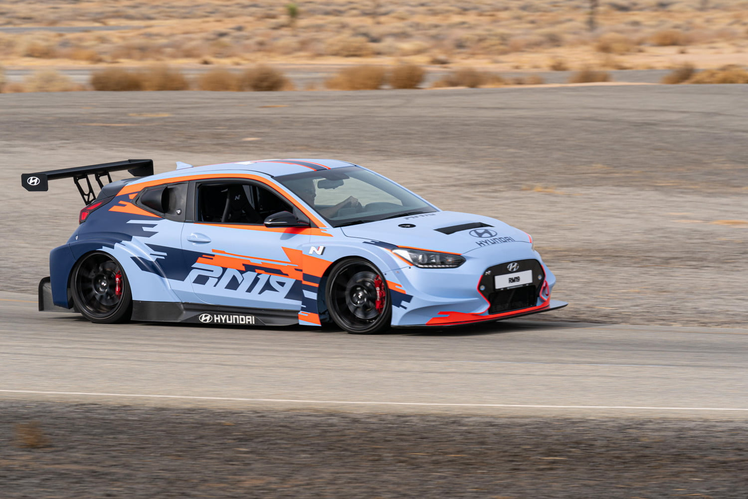 mid engined hyundai rm19 hot hatch unveiled at los angeles auto show 2