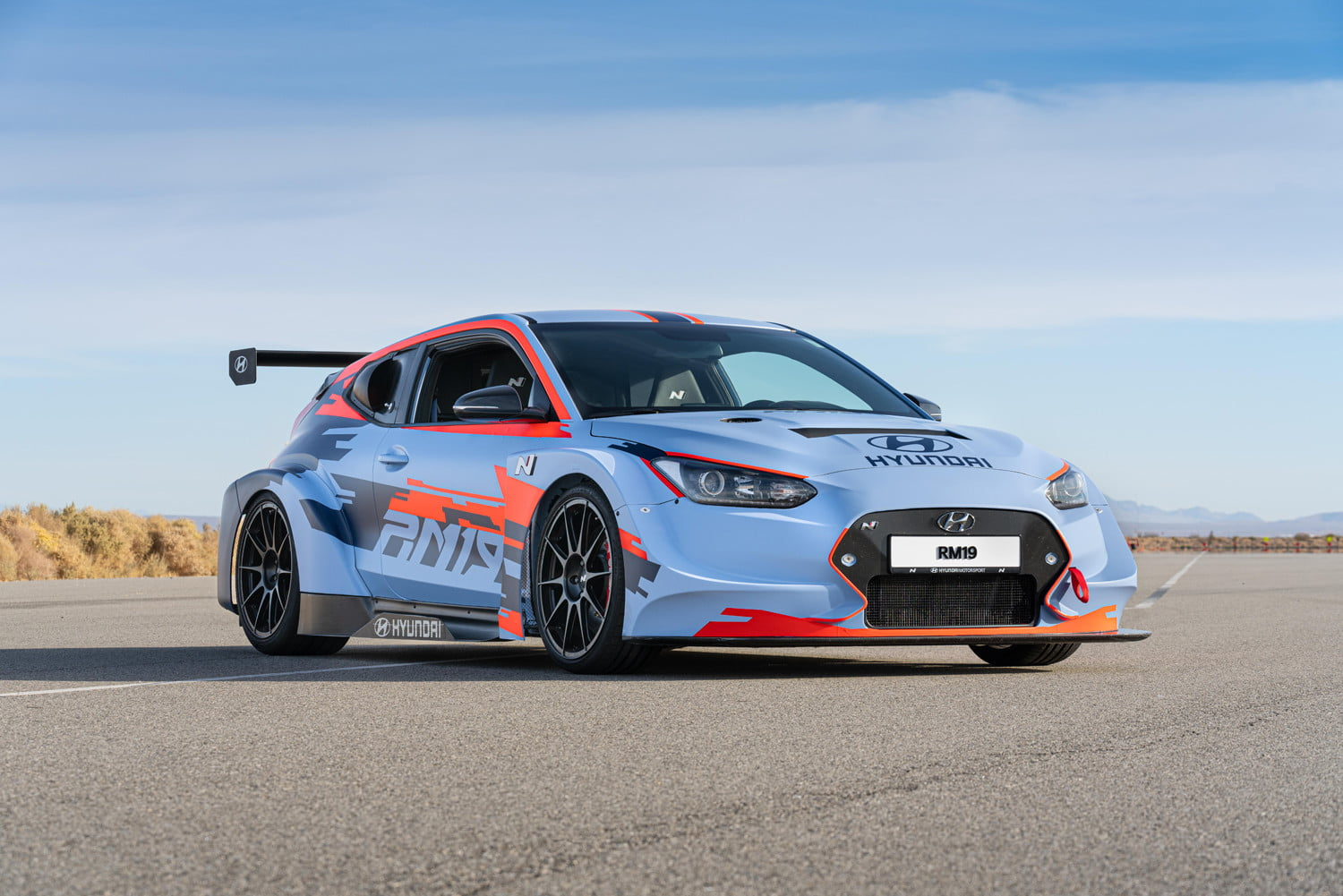 mid engined hyundai rm19 hot hatch unveiled at los angeles auto show 7