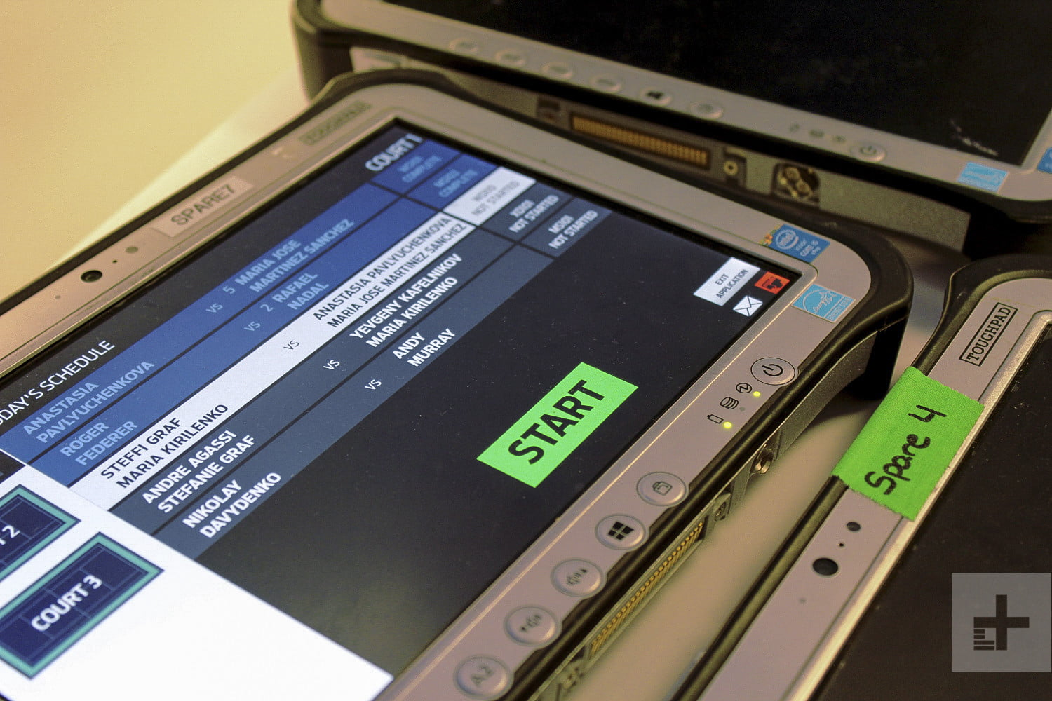 ibm watson at the 2017 us open tablets