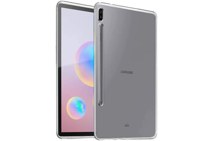 iCoverCase Matte Transparent TPU Case for the Samsung Galaxy Tab S6.
