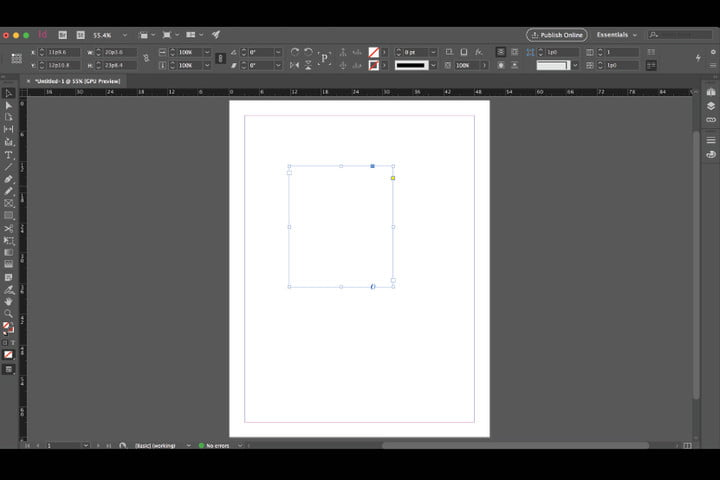 adobe indesign modern ui march 2017 id  redesigned