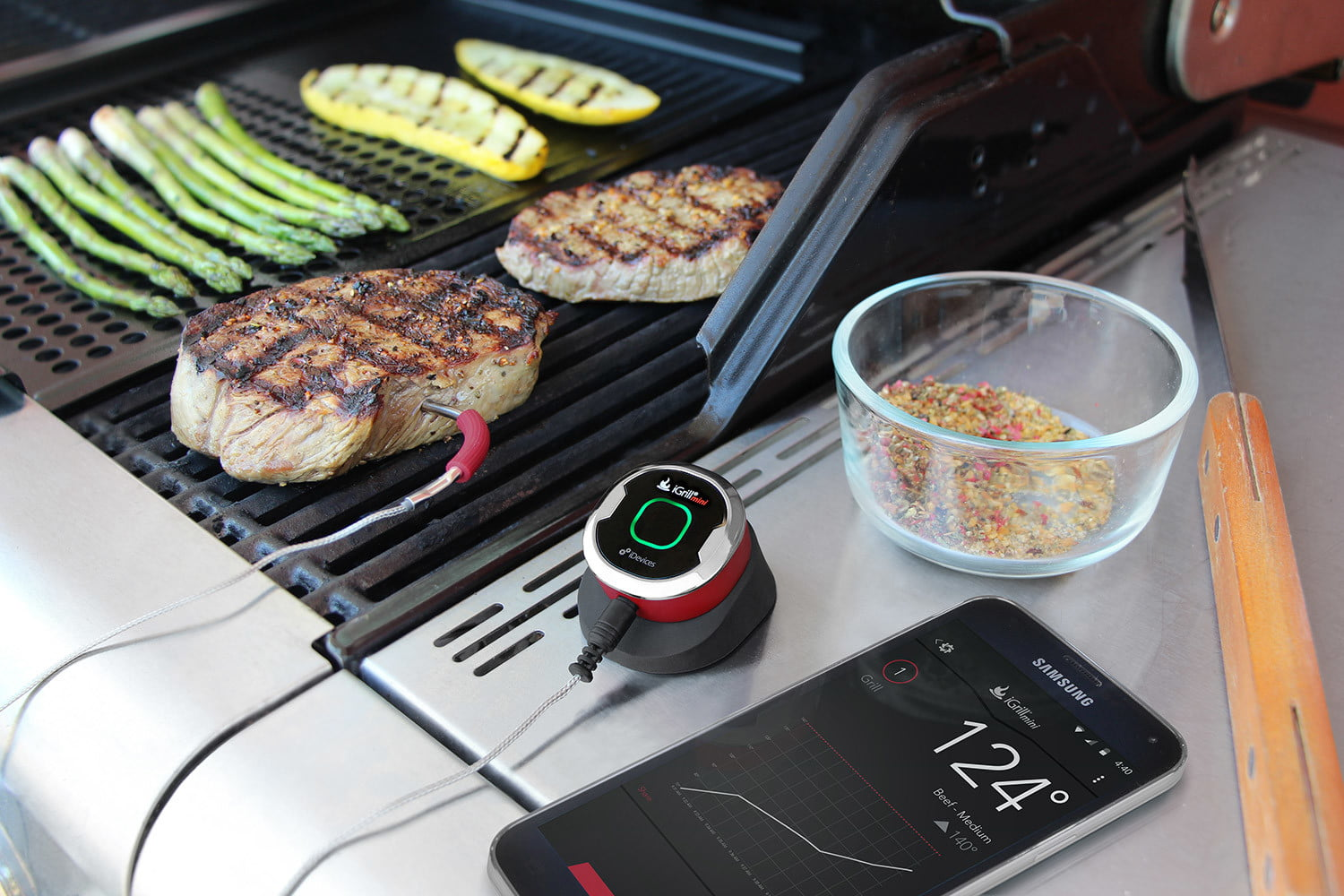 best super bowl party gear idevices igrill mini bluetooth smart meat thermometer