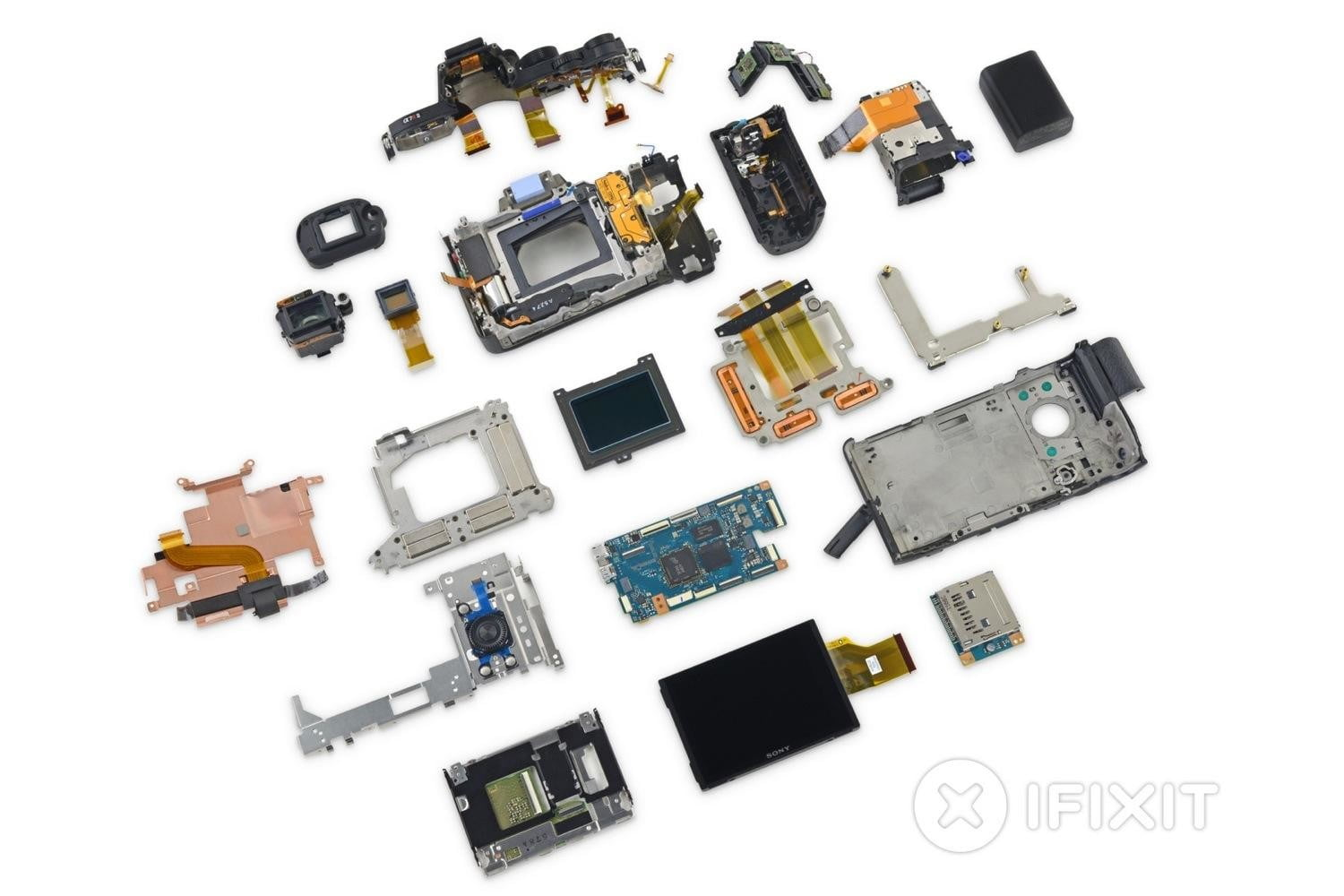 ifixit tears apart sony a7r ii camera calls it mighty feat of engineering a7rii teardown 2