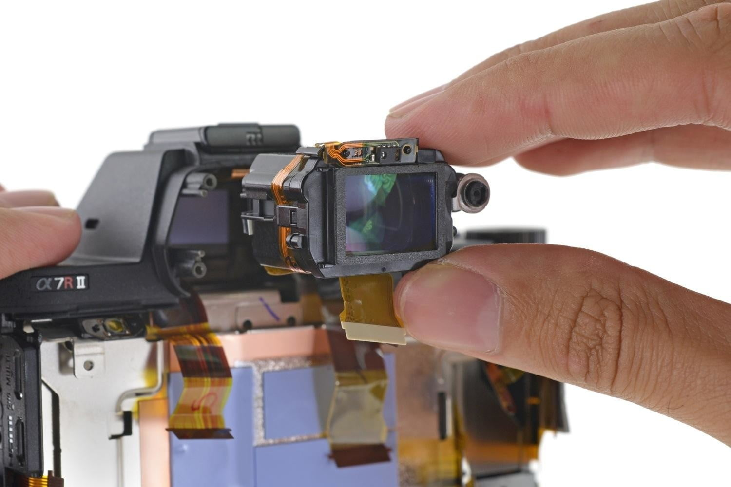 ifixit tears apart sony a7r ii camera calls it mighty feat of engineering a7rii teardown 4