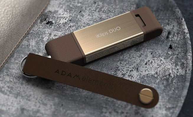 adams elements iklips duo storage for iphone