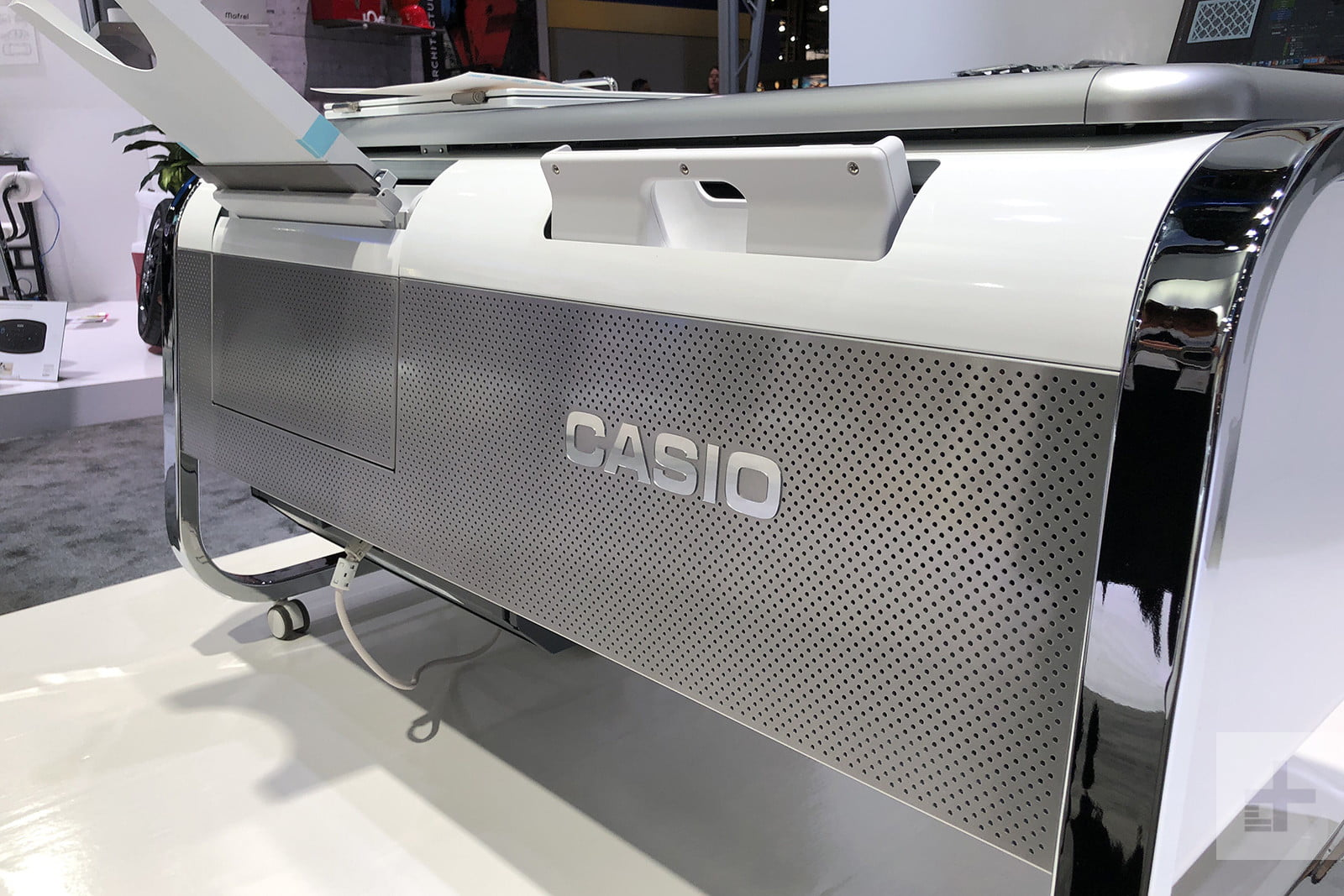 casio mofrel 25d printer ces2018 image uploaded from ios 8