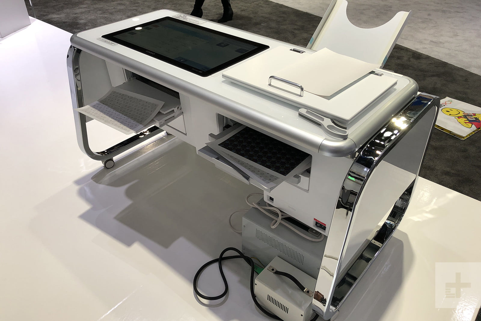 casio mofrel 25d printer ces2018 image uploaded from ios 9