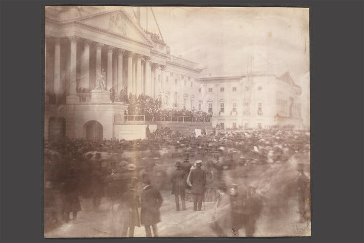 first presidential inauguration photo