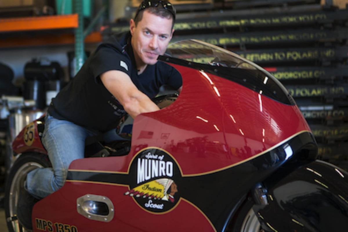 Indian Motorcycle set three land speed records