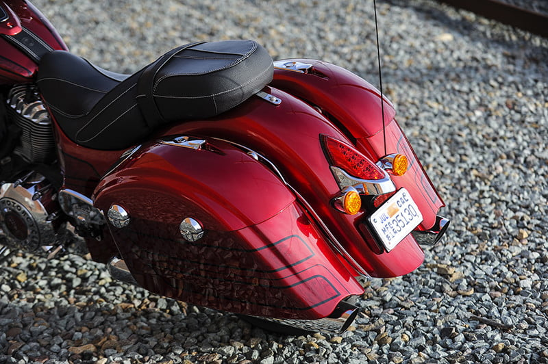 indian motorcycle 2017 chieftain special editions limited elite rear
