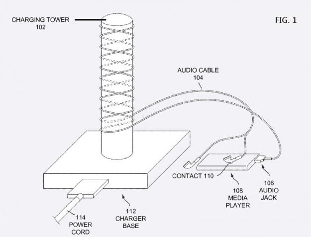 inductive power charger 1 via patently Apple