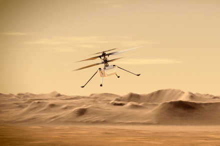 NASA's Ingenuity helicopter nails 'risky' 12th flight on the red planet
