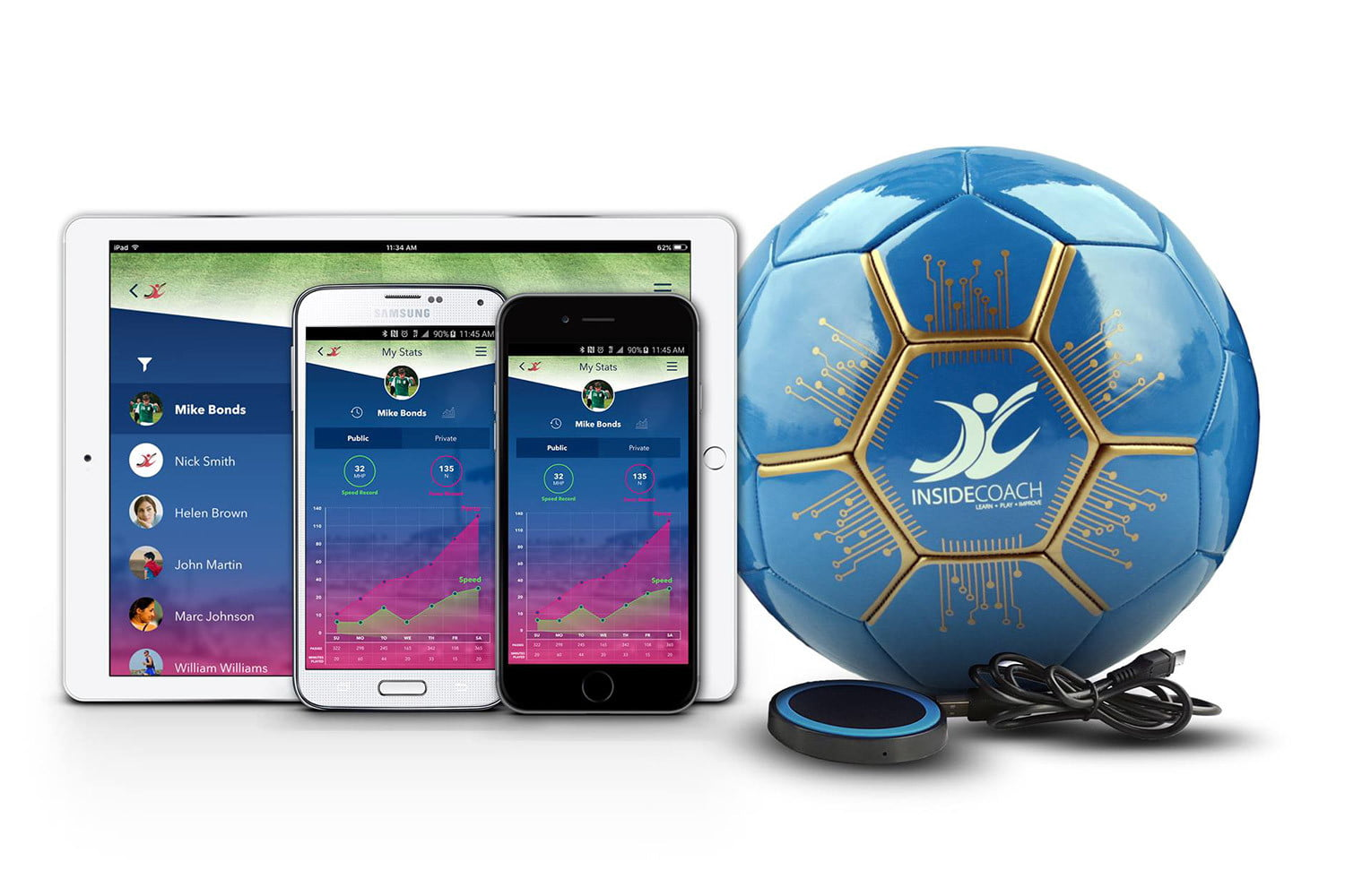 awesome tech you cant buy yet february 07 2016 insidecoach  smart soccer ball