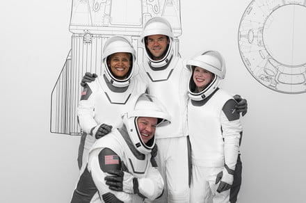 SpaceX's first space tourism astronauts show off their suits
