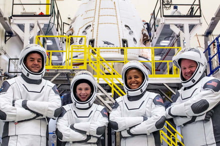 Netflix drops trailer for docuseries on SpaceX's first all-civilian mission