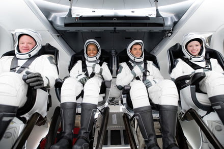 SpaceX eyes weather for first civilian orbital mission on Wednesday