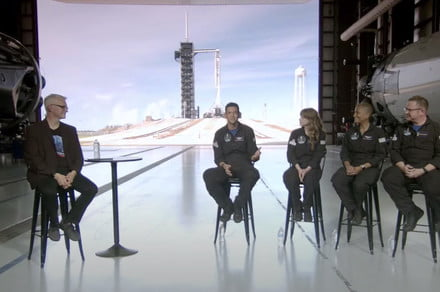 Meet SpaceX's Inspiration4 crew in pre-launch Q&A session
