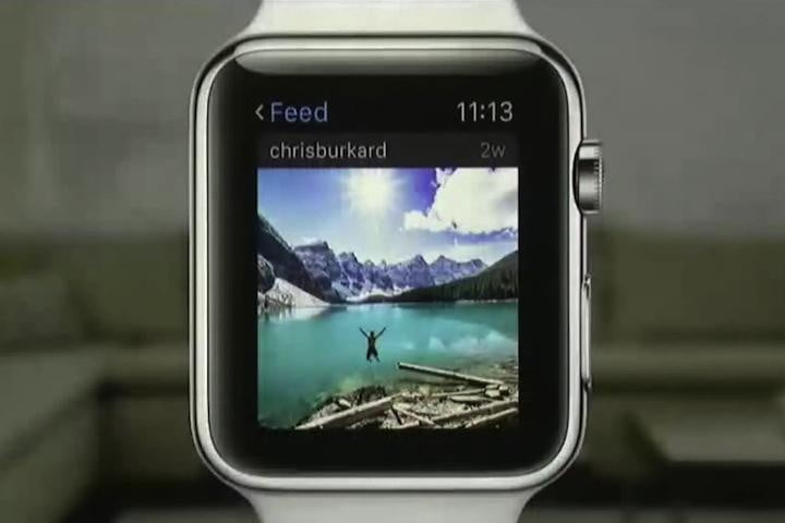instagram steps into wearables space with apple watch app