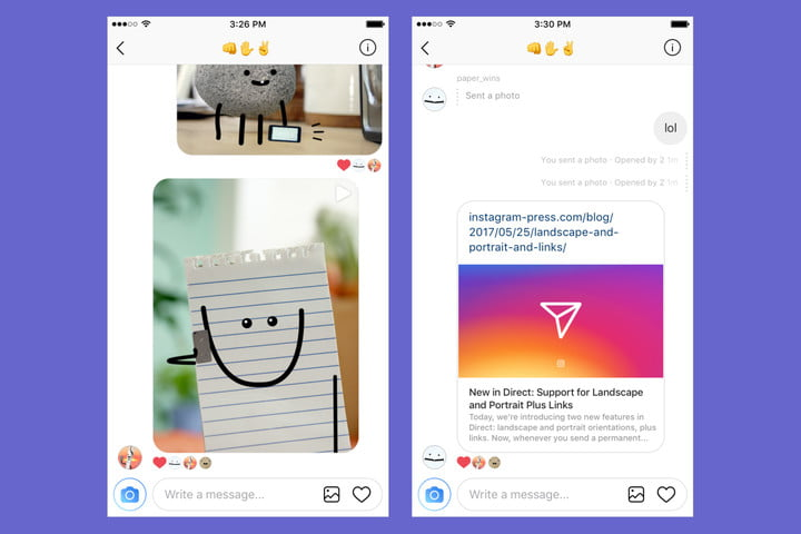 instagram direct not square thread update 2 up copy