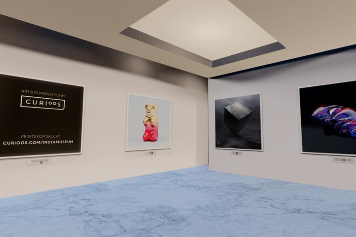 instamuseum instagram virtual reality vr app curioos