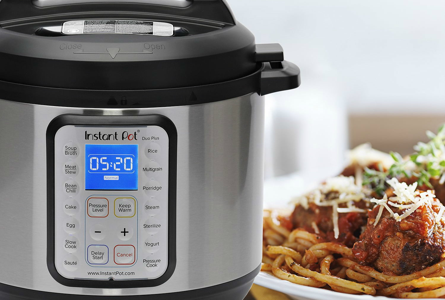 amazon slashes price on instant pot duo plus60 for this memorial day sale plus 60 6 qt 9 in 1 multi  use programmable pressur