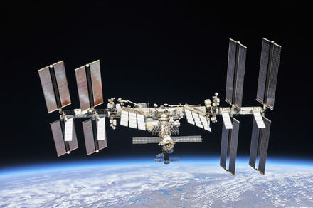 Errant thruster firing causes scare on International Space Station