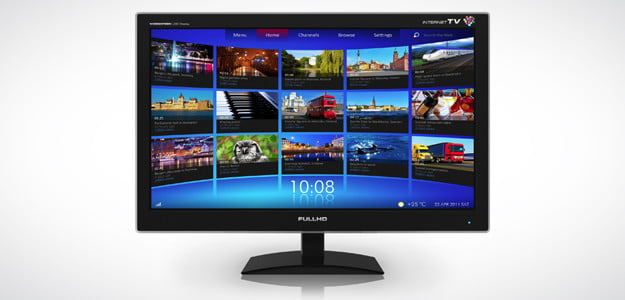 Internet connected tv