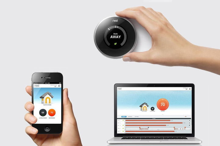nest acquires revolv internet of things thermostat