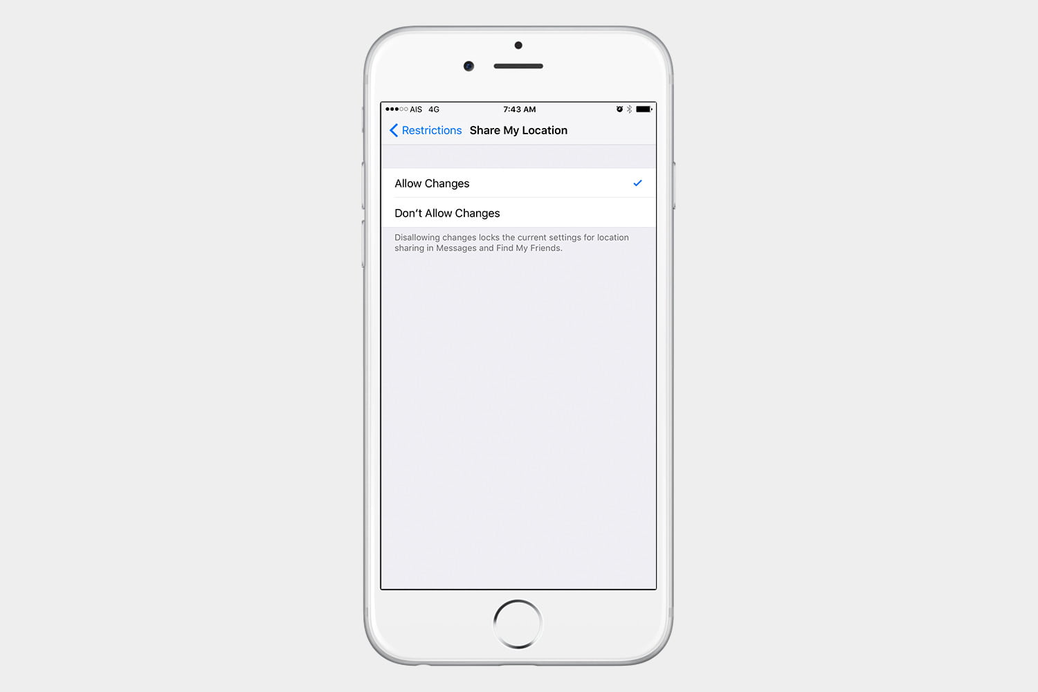 how to use find my friends ios 10 restrictions2