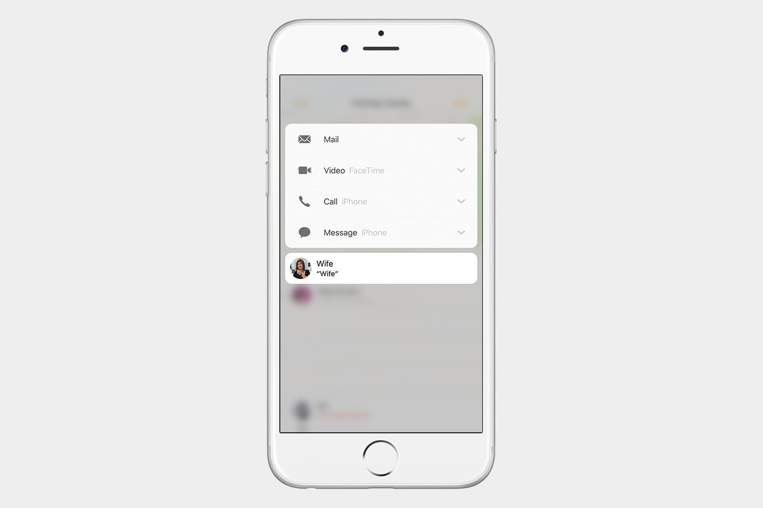 how to use find my friends ios 10 3d touch3