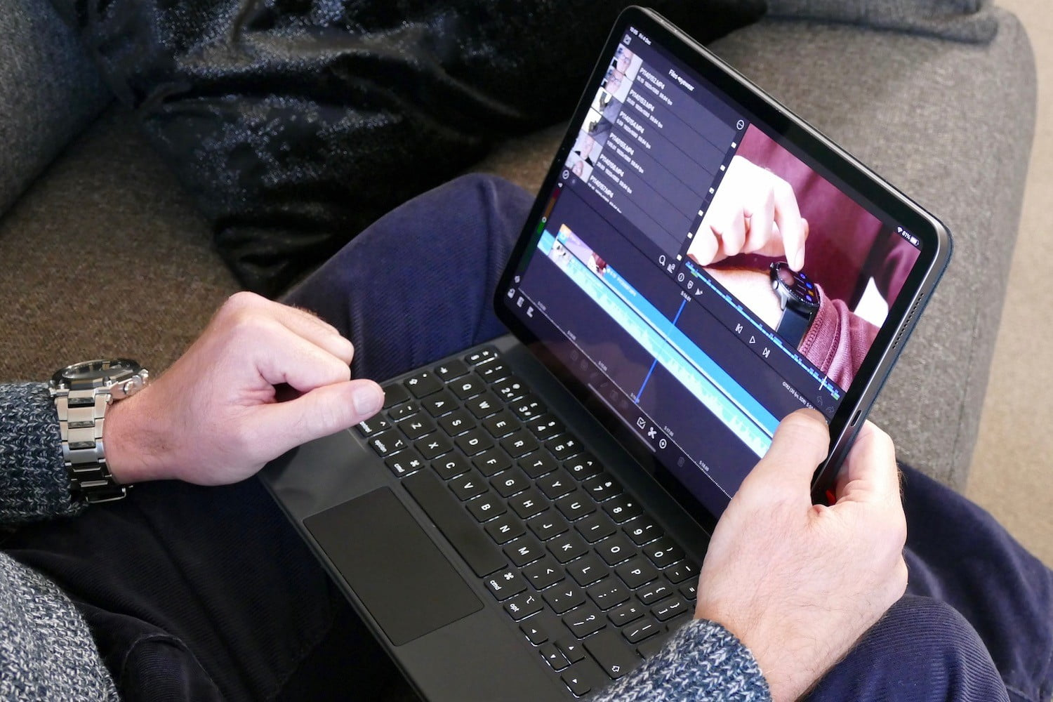 creating youtube videos on the ipad is easy lumafusion editing suite