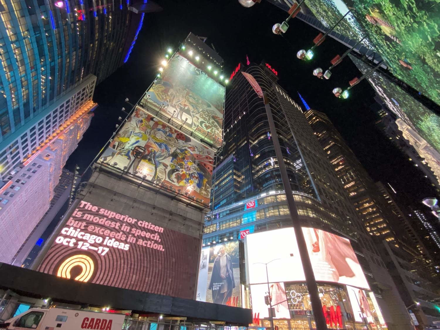 iphone 11 pro review versus galaxy note 10 wide angle times square 2
