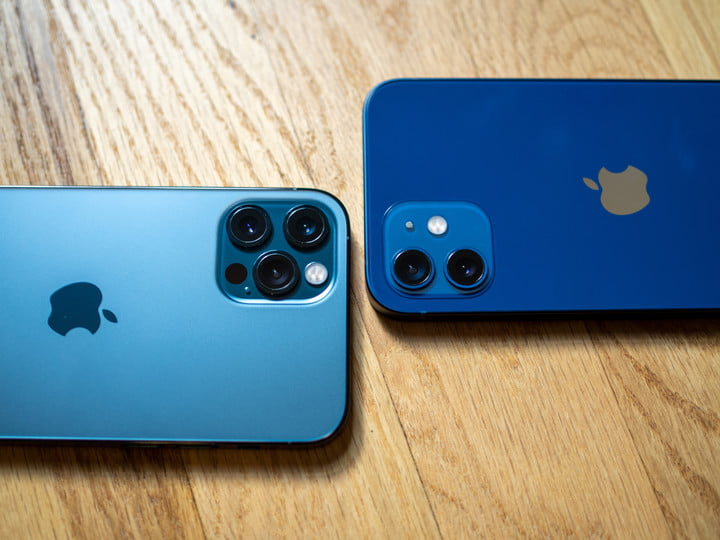 iPhone 12 and 12 Pro cameras