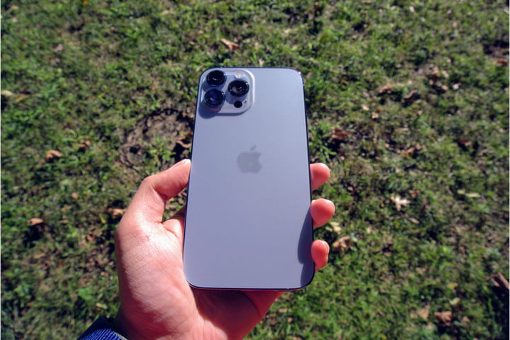 iPhone 13 Pro Max back.