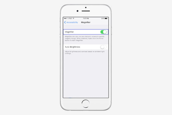 iphone 7 tips and tricks magnifier 2