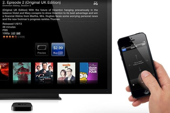 apple patent shows iphone as whole home remote control