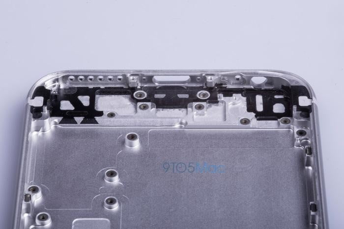 say hello to the iphone 6s leaked images of metal frame reveal no changes chassis 06