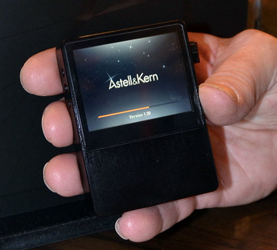 Hands on with iriver's Astell & Kern AK100