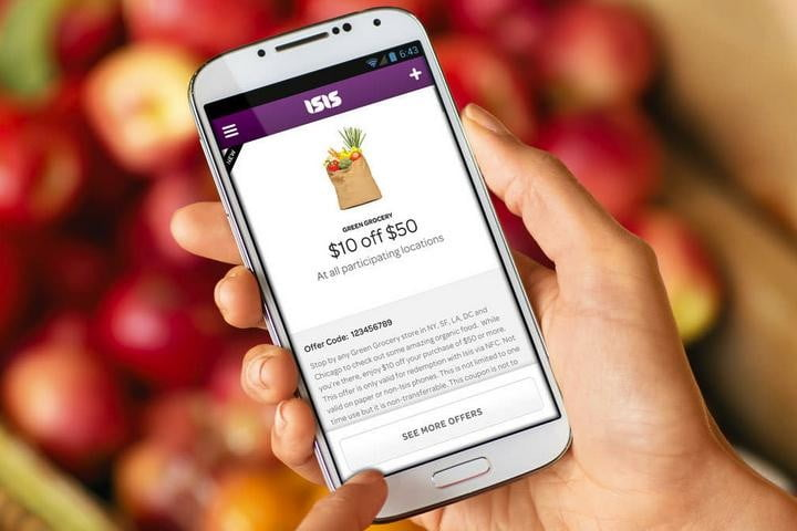 Isis NFC Payments